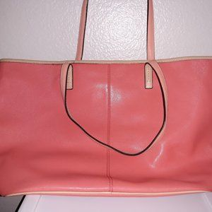 AUTHENTIC COACH Large Park Metro Leather Tote